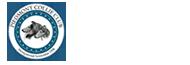 Small black and white Piedmont Collie Club logo.